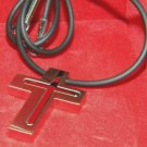 Colibri gift boxed christian stainless  cross pendant