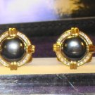 Dolan Bullock 14K SOLID GOLD DIAMOND  Cuff Links