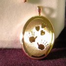 KREMENTZ  GOLD KEEPSAKE  LOCKET FREE SHP