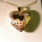 KREMENTZ  14K SOLID  GOLD HEART LOCKET 6.7GRAMS
