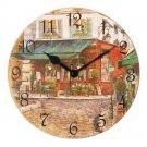 Seth Thomas WBL-9109  TOWN  Nostalgia Wall Clock