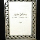 Seth Thomas AUSTRIAN CRYSTAL PHOTO FRAME RARE SATIN