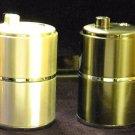 New Colibri  Electro Quartz Table Lighter silver