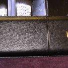 ST Dupont Black Gold Leather large Cigar Case