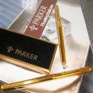 PARKER FLOATING  IMPERIAL Gold  Soft Tip Pen USA NEW