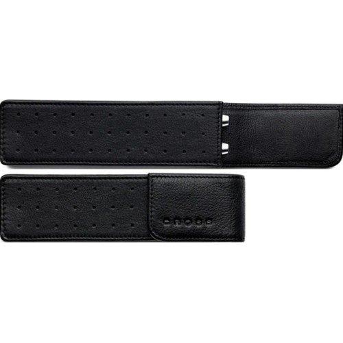 CROSS BLACK   Leather Pen case  single  ac222-1