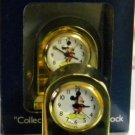 DISNEY COLLECTIBLE BRASS  CLOCK MICKEY MOUSE