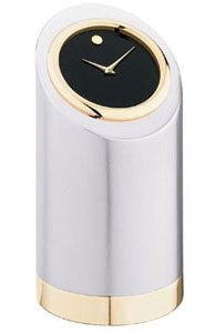 Movado tower style Cylindrical Desk Clock TSI-106M