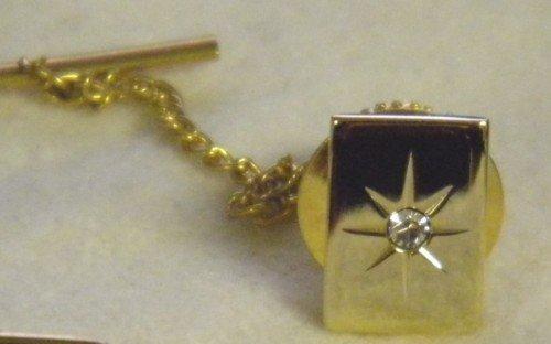 Colibri KREISLER TIE TAC  PIN  23K GOLD FREE SHIP