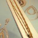 KREMENTZ 14kt  gold filled necklace chain 24in