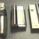 3  COLIBRI  CIGAR  JET TORCH   LIGHTERS LOT V-4