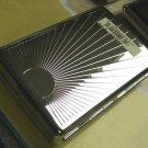 Colibri Cigarette Case  POLISHED SILVER BURST
