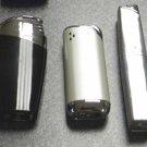 3  COLIBRI ELECTRO QUARTZ  LIGHTERS LOT F-8
