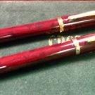 Cross Century II  ballpoint pen pencil set BROWN