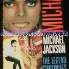 "Michael Jackson's ""The Legend Continues"" VHS Film (1st Edition)"
