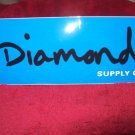 Diamond Skateboards Sticker - Blue / Black