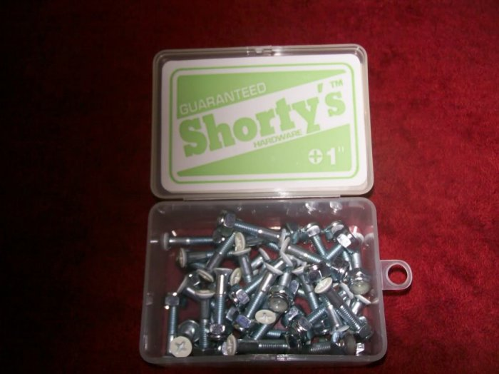 "Shorty's 1"" Phillips Hardware - Boxed Set of 37 - GLOW"