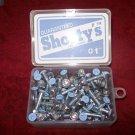 "Shorty's 1"" Phillips Hardware - Boxed Set of 65 Lt Blue"