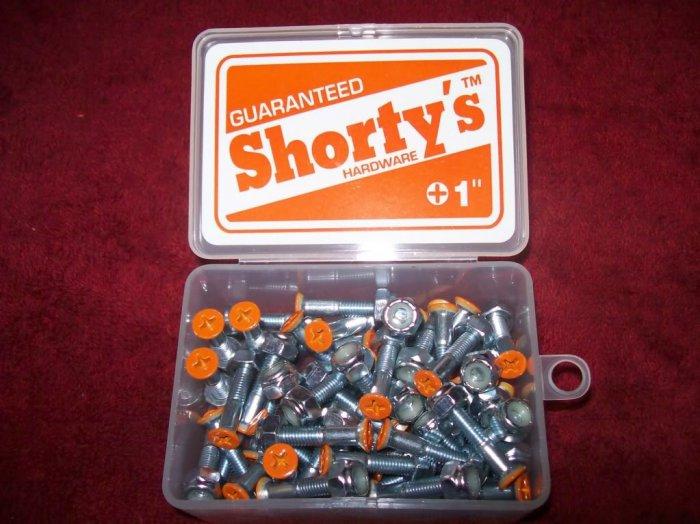 """Shorty's 1"""" Phillips Hardware - Boxed Set of 50 Orange"""