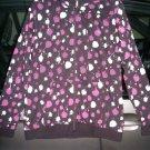 KREW SKATEBOARD Grecco Spots Lightweight Hoodie - Black/Purple - Large