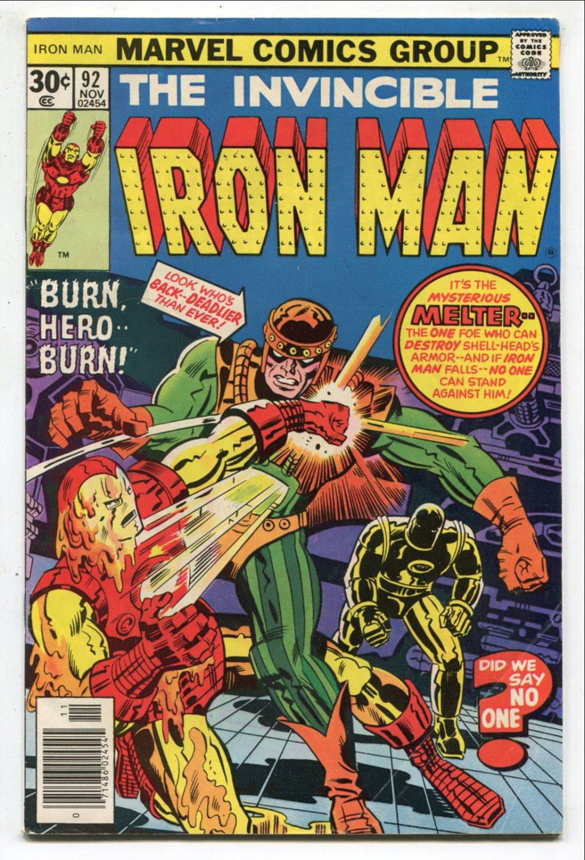 Set of Iron Man Comics #s 92, 93 and 94 (1976-77, Marvel )