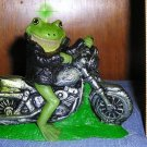 Frog on a Harley Candle, Candles