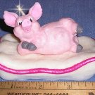 Pig on Pillow Candle, Candles