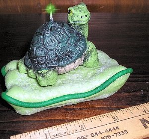 Turtle Baby on Pillow Candle, Candles