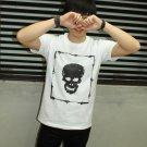Skull in bamboo square / SUPER SOFT TEE / FREESHIP  Unisex Men t-shirt - Steam Cool Punk : Large