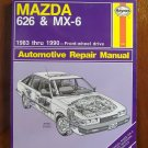 1983-1990 Mazda 626 & MX-6 Haynes Repair Manual