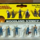 Wood Land Scenics Scenic Accents 6 HO Scale Train Mechanics A1859