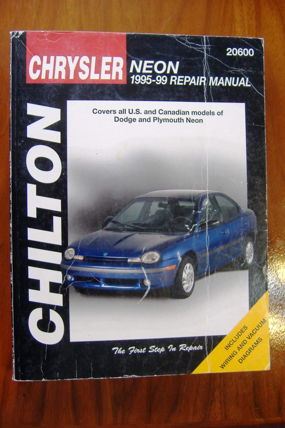 95-99 Dodge & Plymouth Neon Chilton's Repair Manual