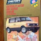 85-90 Chevrolet Astro & GMC Safari Chiltons Repair Manual