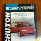 94 98 Chilton's Hyundai Coupes Sedans Accent Elantra Exel Scoupe Sonata Tiburon
