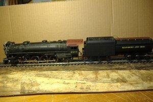 MEHANO 4-8-2 Steam Engine Locomotive Baltimore and Ohio 5577 made in Solvenia