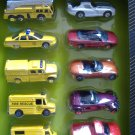 Maisto Super Series 10 Die Cast Vehicles 10 pack