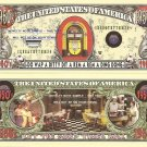 1950's RETRO AMERICAN DINER JUKEBOX DOLLAR BILLS x 4