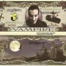 VAMPIRE ONE MILLION DOLLAR BILLS x 4 HALLOWEEN GIFT NEW