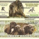 GREAT DANE DOG PUPPIES MILLION DOLLAR BILLS x 4 NEW