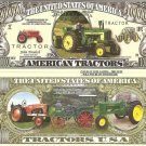 AMERICAN FARM TRACTORS ONE MILLION DOLLAR BILLS x 4 NEW