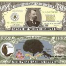 NORTH DAKOTA PEACE GARDEN STATE 1889 DOLLAR BILLS x4 ND
