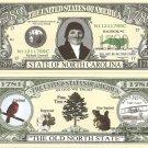 NORTH CAROLINA OLD NORTH STATE 1789 DOLLAR BILLS x 4 NC