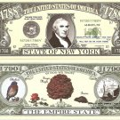 NEW YORK THE EMPIRE STATE 1788 DOLLAR BILLS x 4 NY