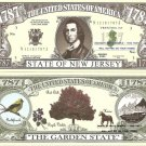 NEW JERSEY THE GARDEN STATE 1787 DOLLAR BILLS x 4 NJ