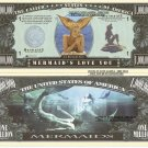 MERMAIDS LOVE YOU ONE MILLION DOLLAR BILLS x 4 NEW GIFT