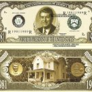 40th PRESIDENT RONALD REAGAN MILLION DOLLAR BILLS x 4