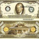 39th PRESIDENT JIMMY CARTER MILLION DOLLAR BILLS x 4