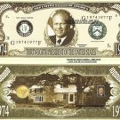 38th PRESIDENT GERALD FORD MILLION DOLLAR BILLS x 4