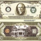29th PRESIDENT WARREN G HARDING MILLION DOLLAR BILLS x 4