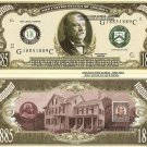 22nd PRESIDENT GROVER CLEVELAND MILLION DOLLAR BILLS x 4